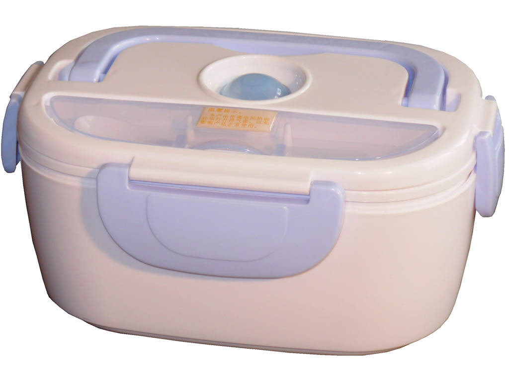 lunch box chauffante bleu chromex. Black Bedroom Furniture Sets. Home Design Ideas