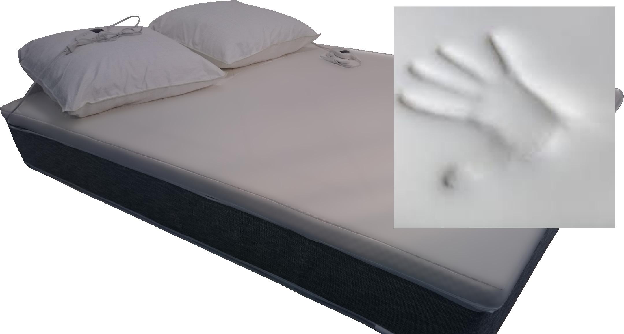 surmatelas chauffant a m moire de forme 160 x 200 cm. Black Bedroom Furniture Sets. Home Design Ideas