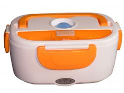 Lunch box chauffante orange Chromex