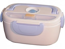 Lunch box chauffante bleu Chromex